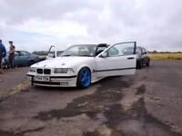 BMW E36 compact drift car 2.8