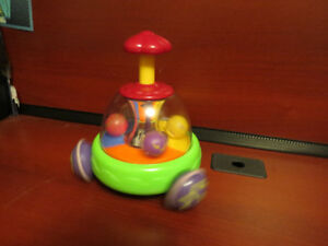 toddler spinning push top