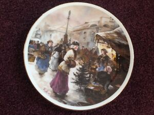 Worcester Collector Plate