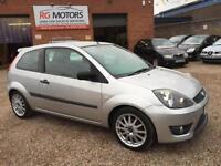 2006 Ford Fiesta Zetec S 1.6 16v Silver 3dr Sports Hatch, **ANY PX WELCOME**