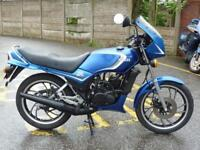 YAMAHA RD125LC 1985 MODEL BLUE 24029 MILES