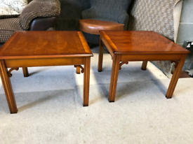 Inlaid Side Tables (only one left)