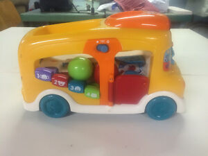 VTech Count and Learn School Bus $5