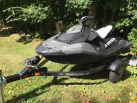 2014 Seadoo Spark 90HO and Trailer $7000.00