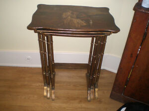 Antique French / English nesting tables