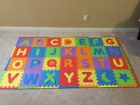 Books $20 and $10 for the play mat