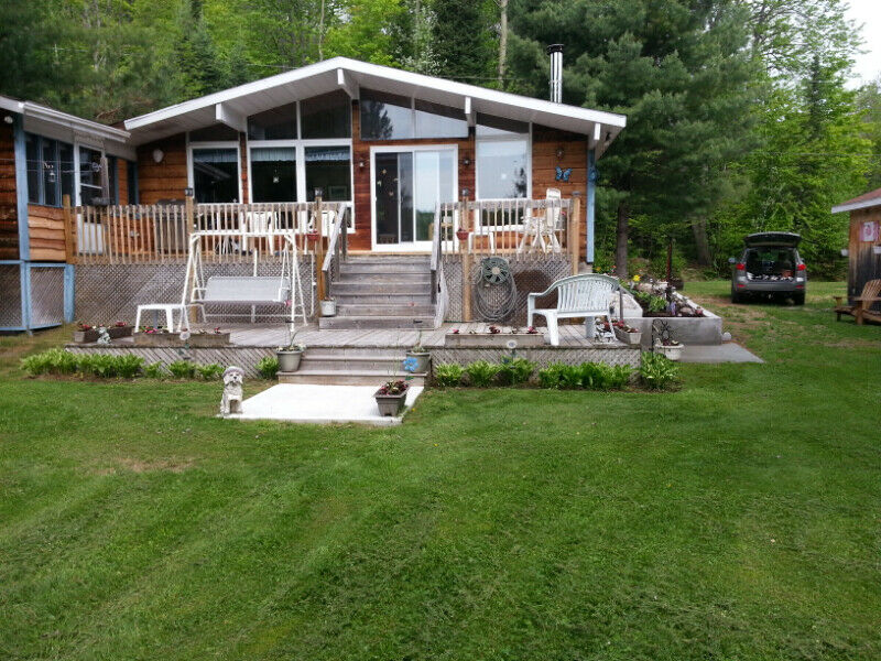 Swell Beautiful 4 Season Cottage For Sale In Gracefield Quebec Interior Design Ideas Gentotryabchikinfo