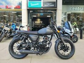 Mutt FSR 125 2021 Matt Black 125cc Learner Legal Motorbike