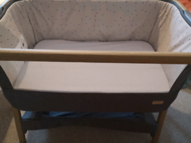 Tutti Bambini cozee next to me bedside cot