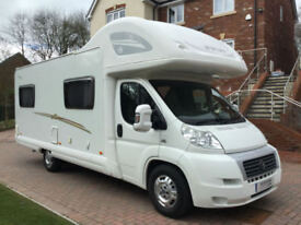 SWIFT SUNTOR 630L 6 BERTH FAMILY MOTORHOME, LOW MILEAGE ONLY 15K
