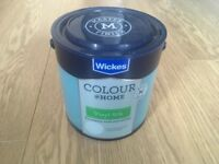 Brand New TEAL silk paint