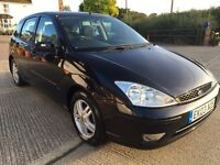 2003 Ford Focus Zetec**12 Months mot**Just Serviced**Lovely Condition**