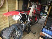 Honda cr 125 motocross bike not cr rm Kx ktm yz