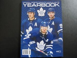 Official 2018-19 Toronto Maple Leafs Yearbook