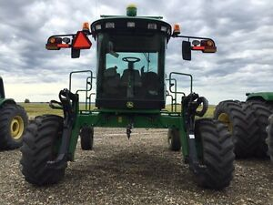 John Deere W150 Swather and 35' Header(price reduced)