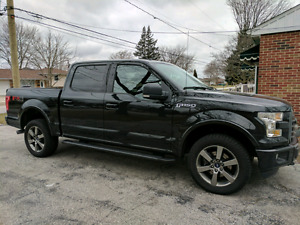 2015 Ford F-150 XLT FX4 with tow and sport package.