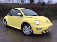 Volkswagen Beetle low miles 69000 miles new mot drives mint 895