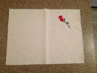 Rose Placemats