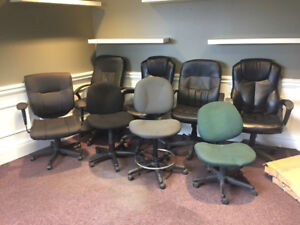 Computer Chairs - Leather - Cloth - ONLY $35ea!