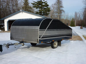 "Enclosed Utility, Landscaping Trailer, 8' (96"") x 12'. $2000.00"