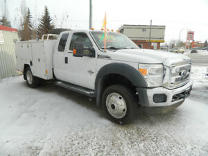 2011 FORD F450 SERVICE BODY (INSPECTED)