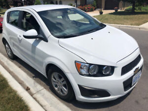 2012 Chevrolet Sonic Hatchback, Excellent Condition only 70km