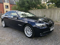 2011 BMW 730D SE AUTO BLUE WITH CREAM LEATHER - STUNNING CAR