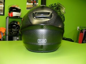 Carbon Fiber Helmet - RIOT Version 2.0 PRO at RE-GEAR Kingston Kingston Area image 3