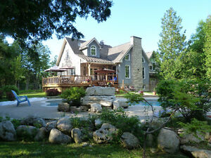 Custom Home with Waterfront and Acreage in Meaford