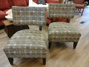 Pair of Retro Style Chairs at The Old Attic