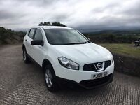 2013 Nissan Qashqai 1.5 DCI VISIA 6 Speed Finance Available