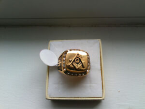 new Masonic ring size 9 or size 10 or a size 7 and or size
