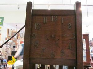 Oak Mission's Grandfather Clock case only London Ontario image 3