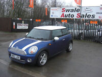 2008 MINI COOPER D 1.6TD £30 A YEAR TAX, FULL SERVICE HISTORY