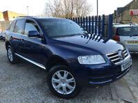 ✿05-Reg Volkswagen Touareg 2.5 TDI Sport AUTO ✿FOUR WHEEL DRIVE ✿NICE EXAMPLE✿