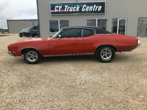 1972 Buick GS Number Match Factory Orange Restored