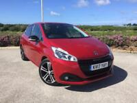 2017 Peugeot 208 1.6 BLUE HDI 100 GT Line Manual Hatchback