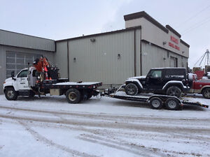 PICKER TRUCK FOR HIRE !! DO YOU NEED YOUR SHED OR HOT TUB MOVED Strathcona County Edmonton Area image 5