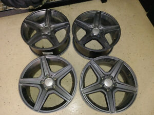 Wheels (set of 4) 5/112 bolt pattern