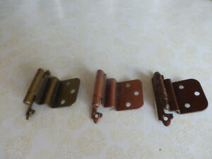 Old school kitchen cabinet hinges They are brand new from 1960's