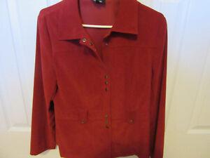 LADIES RED DRESS JACKET