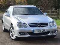 2007 Mercedes-Benz CLK 2.1 CLK220 CDI Avantgarde 2dr