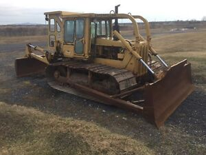 Bulldozer cat d6d lgp 1979
