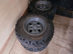 Arctic cat rims and tires