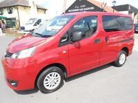 2012 Nissan NV200 DCI SE COMBI Diesel WAV * Only 18,000 Miles *