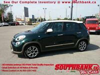 "2014 FIAT 500L Trekking HTD SEATS, NAV, ROOF, BLUETOOTH, 17"" ALL"
