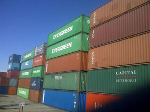 Specials on 40' & 20' Steel Shipping storage containers