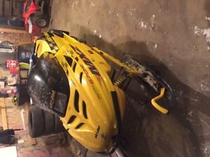 Mxz 670 good working sled with a few extras
