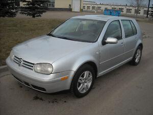 2001 Volkswagen Golf Fully Loaded 2L