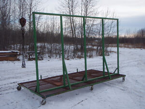 Material cart with support for windows Edmonton Edmonton Area image 3